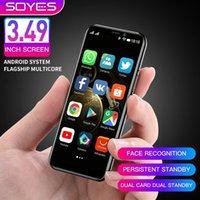 "Melrose 2019 Android 8.1 4G LTE Smartphone 3.4 "" Super Mini Telefone 3GB 32GB Finger Face ID 2000mAh Phone Pk Phone S9 K15"