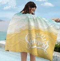 The latest 160X80CM printed beach towel, summer surfing island style, ultra-fine fiber sunscreen and quick-drying double-sided fleece, support custom LOGO