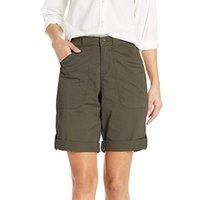 Pantalones cortos de mujer de Spodenki Verano Casual de algodón de lino de lino con cordones Pantalones cortos Talla grande Moda Streetwear Fashion # T2