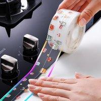 Wall Stickers Bathroom Shower Sink Bath Sealing Strip Waterproof Sticker For Kitchen Anti-mold Tape Self-adhesive Seam