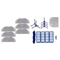 Staubsauger 6 stücke Mopp-Tücher Pads Kit für Eufy Robovac L70 1Set Weiten Roboterreiniger Hauptbürste Seite