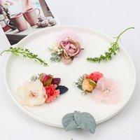 8 Stilleri Ins Sevimli Kız Saç Aksesuarı Tokalar İmitasyon Çiçek Boncuk Kristal Dekorasyon Aksesuarları Çocuklar Takı Hediye Clipp 3343 Q2