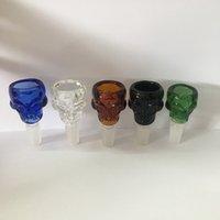 Accesorios de humo de precios de WhoseSale 14 mm 18 mm Masculino conjuntilla de vidrio de vidrio Cuenco para Hookah Shisha Más color