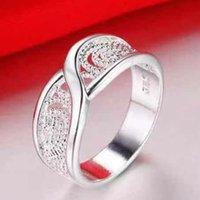 100% 925 Sterling Silver Jewelry Vintage Hollow Pattern Bijoux ANELLO ANEL DE PRATA BIJOUX 1588 V2