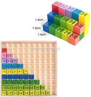 Hölzerne Multiplikation Montessori Pädagogisches Holzspielzeug Math Arithmetic Tischplattenspiel Für Kinder Früheres Lernen Geschenk DD