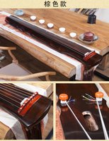 Chinese Guqin fu xi Type Lyre 7 Strings Ancient Chinese-Zither China Musical Instruments harp black brown and cinnabar red 3 colors optional Gu Qin