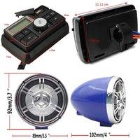12V 3 Zoll Wireless Motorrad Auto Audio atv UTV Golfwagen Waterproof Anti-Theft Bluetooth Lautsprecher USB TF U Disk UK FM Radio Stereoanlage