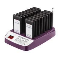 Restaurant Pager Wireless Calling System 16 Empfänger für die Klinik Coffee Shop Kellner Pager Warteschlangenluftreiniger
