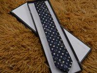 الرجال الأزياء نمط شخصية التطريز 15 نمط التعادل اللون الحرير العلاقات البرية الرجال الأعمال الرسمية العنق g6687