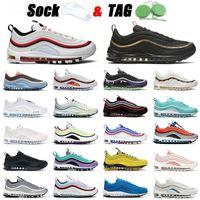 nike air max airmax 97 off white 2021 وصول 97 حذاء جري رياضي أسود ذهبي أبيض أحمر استوائي تويست قبالة الرجال النساء 97s المدربين أحذية رياضية الولايات المتحدة 12
