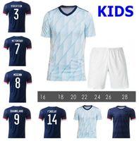 Classi 2021 Scotland Soccer Jerseys 20 21 Scotland Home Man + Kids Fraser 11 Burke 9 Football Shirt