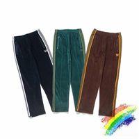 Streetweart Pantalon de Suffetement Wrage EN VELORS AVEC AGUILLES, налейте Homme et Femme, Haute Quality, 1: 1, брози Папильон