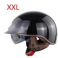Motorcycle Helmets DOT Certification Retro Helmet Half Face Biker Motorbike Moto M4YB
