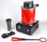 Sanders 110v / 220V, joaillerie fondue, four électrique Four d'or et d'argent avec capacité 2 kg, machine à fusion en laiton