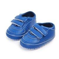Обувь малышей Весна осень удобный и мягкий мальчик девушка дышащая противоскользящая подошва кроссовки первые ходунки