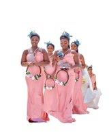 2022 Blush Pink Bridesmaid Dresses Unique Neckline Sheath Beaded Crystal Open Back Wedding Guest Dress Plus Size Afircan Womens