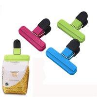 Plastic Food Sealing Bag clip Chips Borse SealeRe Seal Grip per Snack Caffè Accessori da cucina GWE6695