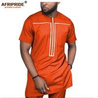 Африканская одежда для мужчин спортивные буйные рубашкиники и печатные брюки традиционные наряды одежда носить утсоит афринорид A1916051