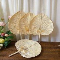 El Dokuma Saman Bambu El Fan Bebek Çevre Koruma Sivrisinek Kovucu Fan için Yaz Düğün Favor DHB7521