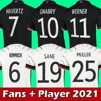 Германия футбольные трикотажные изделия фанатов игрока Kehrer Reus Muller Hummels Havertz Sane футбол футболка высочайшее качество Gosens Goretzka Men Kids Kit