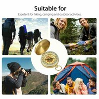 Outdoor Gadgets Compass Watch Style Camping Hiking Navigation Compasses High Keychain Mini Quality Ring X8z1