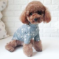 Dog Apparel Winter Pet Clothes Puppy Cat Jumpsuit Pajamas Coat Z1