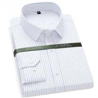 Chemises de coton à carreaux décontractés pour hommes / à carreaux de coton à carreaux de poche à manches longues à manches longues à manches longues à manches longues en coupe standard