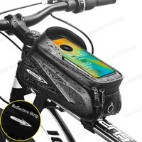 Cell Phone Mounts & Holders Waterproof Touch Screen Bike Holder Storage Bag Bicycle Mount Cycling Handlebar Mobile GPS Stand Support 7.2 Inc