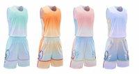 2021 School Men Women Basketballs Jersey Training Youth Game Team Basketball Sets Quick Dry Match Sportswear Uniform College Custom Jerseys 2-110