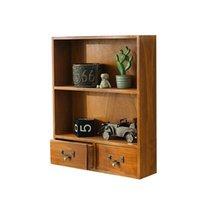 Outras Decoração Home Ajustável e Pendurado Gaveta De Madeira Desktop Sundries Caixa de classificação Fácil de usar Armário de armazenamento de chá de madeira maciça