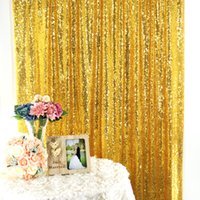 Luxury Rose Gold Sequins Backdrops Photographic Backdrop Cloth Photo Studio Wedding Birthday Party Shooting Background Curtain