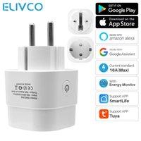 Smart Power Plugs 16A EU Tuya Plug Home Wifi Socket With Timer Monitor SmartLife APP Works Google Alexa Voice Control