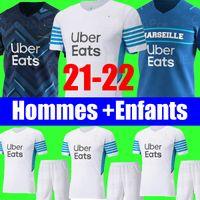 21 22 camiseta de fútbol Olympique De Marseille 2021 2022 camiseta de fútbol de marsella OM MILIK CUISANCE BENEDETTO KAMARA THAUVIN PAYET ALVARO camiseta de fútbol