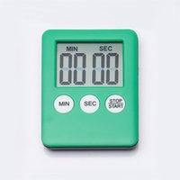 Süper İnce LCD Geri Sayım Sayacı Dijital Mutfak Saat Zamanlayıcıları Kare Pişirme Çalar Saatler Zaman Sayma Cihazları 1465 T2