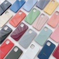 Casos de silicone de qualidade OEM original para iPhone 12 12mini 12Pro max 7 8 x xr xs com pacote
