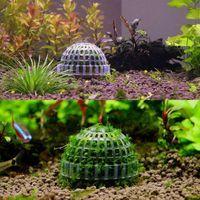 Decorations DIY Aquarium Fish Tank Media Moss Ball Filter Decor For Live Plant Aquatic Ornaments Pet Home Graden Supplies