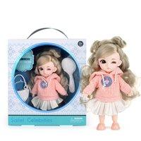 13 Muñecas conjuntas móviles Juguetes Mini Precioso 16 cm Bebé Dress Up Muñecas de moda Play House Juguete juguetes juguetes para niñas Regalo