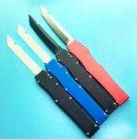 영광 v 단일 액션 모든 검은 녹색 빨간색 파란색 핸들 전술 자기 방어 접이식 EDC 나이프 캠핑 나이프 사냥 나이프 포켓 도구