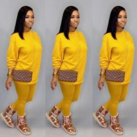 Tracksuits Long Sleeve Two Piece Pants Sets Jogging Outfits For Lady 2-Piece Set Plus Size Casual Women Clothing 5XL