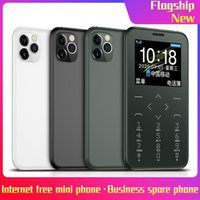 Unlocked Celulares 7s + Handys Celeular Handfree Mic MTK SIM FM MP3 / Fackel / Kameras / 400mAh Wireless Bluetooth Dialer Kleines Mobiltelefon