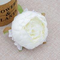 9 سنتيمتر جولة الفاوانيا رئيس الزخرفية عالية الجودة الزفاف diy زهرة القوس جدار محاكاة الحرير كاميليا روز GGA4319