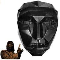TV Squid Game Mask Masked Man Mashs Round Squire Треугольник аксессуары нежный Хэллоуин маскарадный костюм партии реквизит