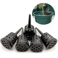 Plastic Fertilizer Mesh Basket With Lid Planting Net Pot Garden Nutrition Cups For Succulent Orchid Bonsai JA55 Planters & Pots