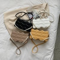 Evening Bags Female Bag Pearl Chain Fashion Shoulder All-match Messenger Designer Handbag Diagonal