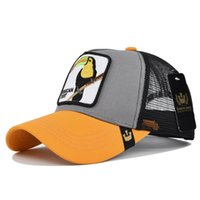 Men's Animal Farm Snap Back Trucker Hat Mesh Snapback Caps Animals Embroidery Baseball Cap Men Women Hip Hop Hats