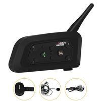 Schiedsrichter-Intercom-Headsets 2-6-Gruppen-Bluetooth-Kommunikation zwischen Fußball-Handball-Fußballhockey-Schiedsrichter Motorrad