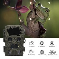 Hunting Cameras H8201 Dual-Lens Trail Camera 4K 20MP Night Vision Infrared Scouting Po Trap Wildlife Surveillance