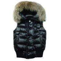 Kış Aşağı Yelek Kadın Tasarımcılar Yelekler Kapşonlu Kolsuz Ceket Bayanlar Için Sıcak Kaliteli Giyim Satılık