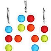 Tetris Toys Fidge Push Pop Pop Bubble Popper Настольная игра Сенсорная Пузырь Popper Головоломка Силиконовая Головоломка Игрушка Аутизм Тревога Стресс Редивер H317JXF