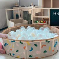 Pool & Accessories Folding Swimming Kids Ocean Ball Bath Tub Children's Bathtub Game Dry Baby Indoor Outdoor Play Storage Fence